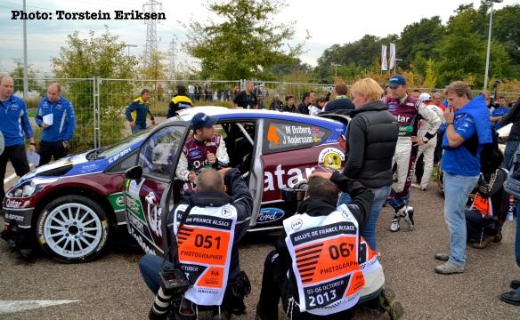 Rallye de France - Route Note Car fullført!